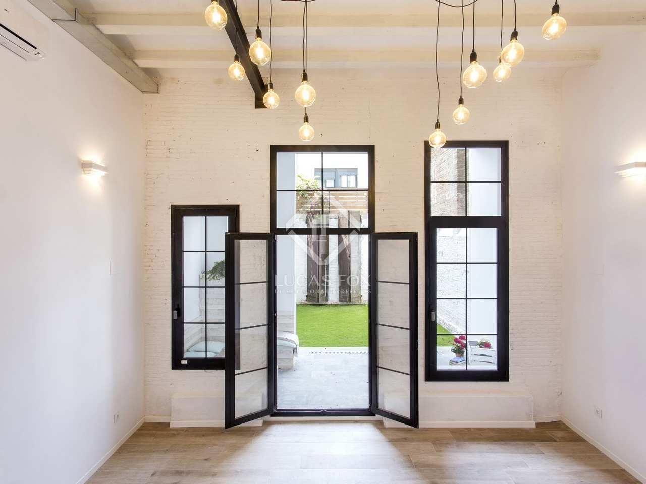 Appartement de 95m a vendre poblenou avec 38m de jardin - Acheter appartement a barcelone ...