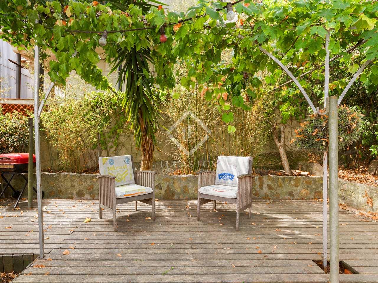 Maison villa de 226m a vendre vallvidrera avec 50m for Piscine w barcelone