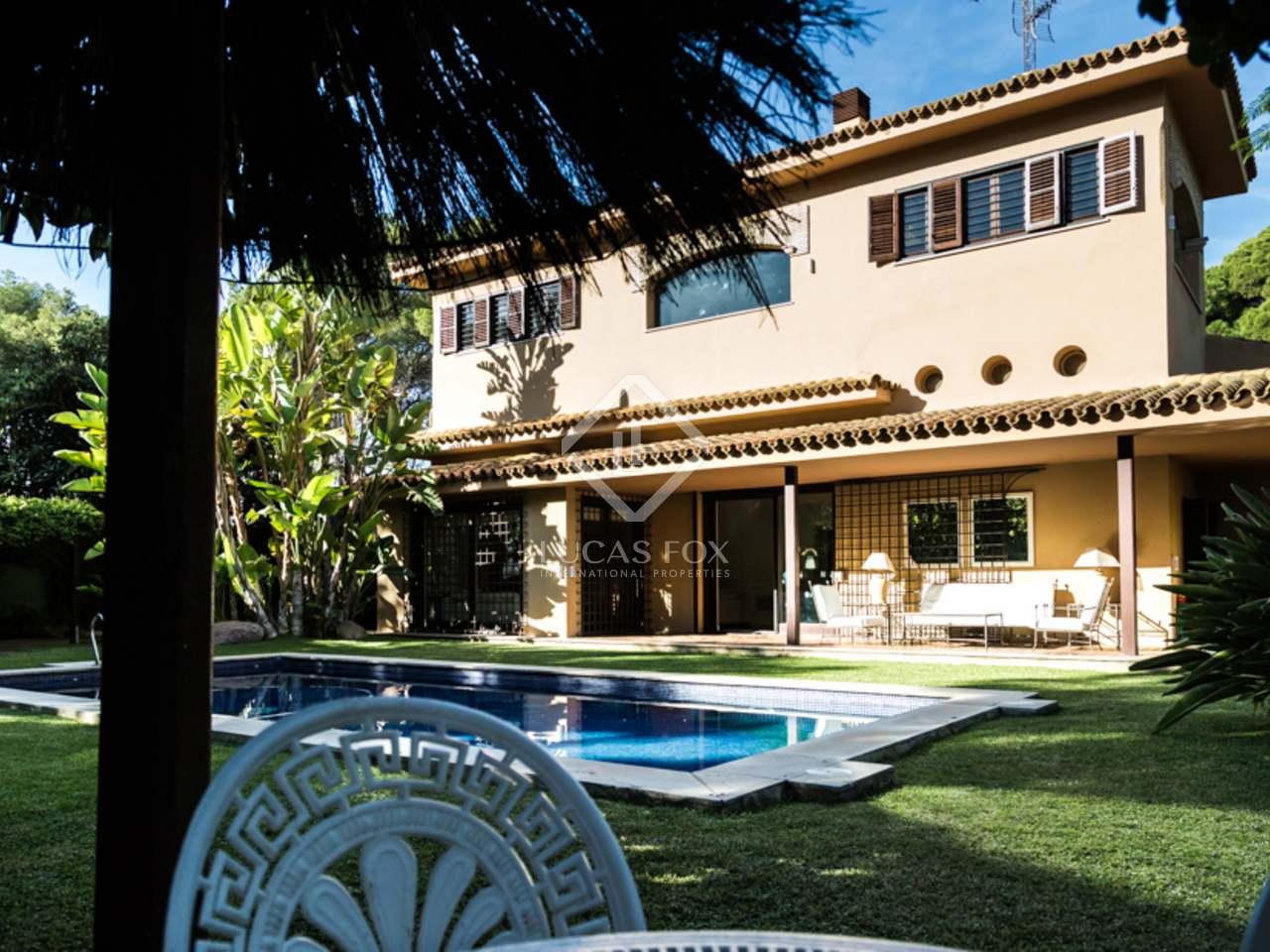 luxury house for sale in godella, near valencia city