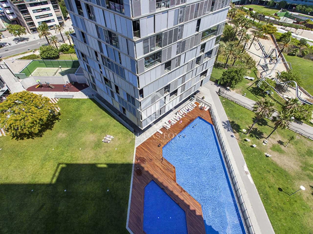 Appartement de 142m a vendre diagonal mar avec 109m for Piscine w barcelone