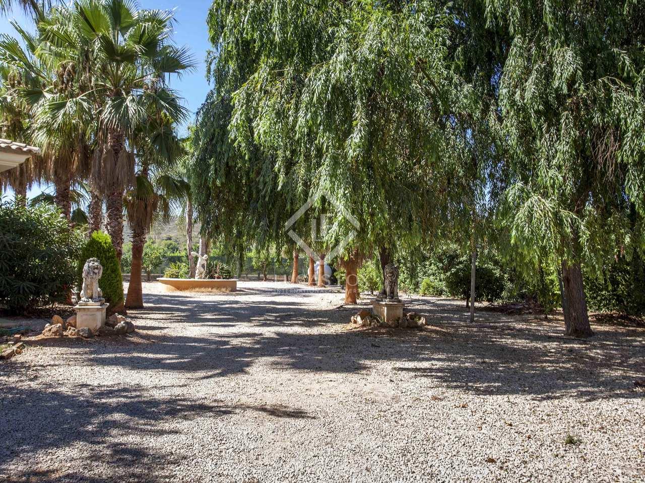 Maison villa de 600m a vendre el saler perellonet for Jardin anglais caracteristiques