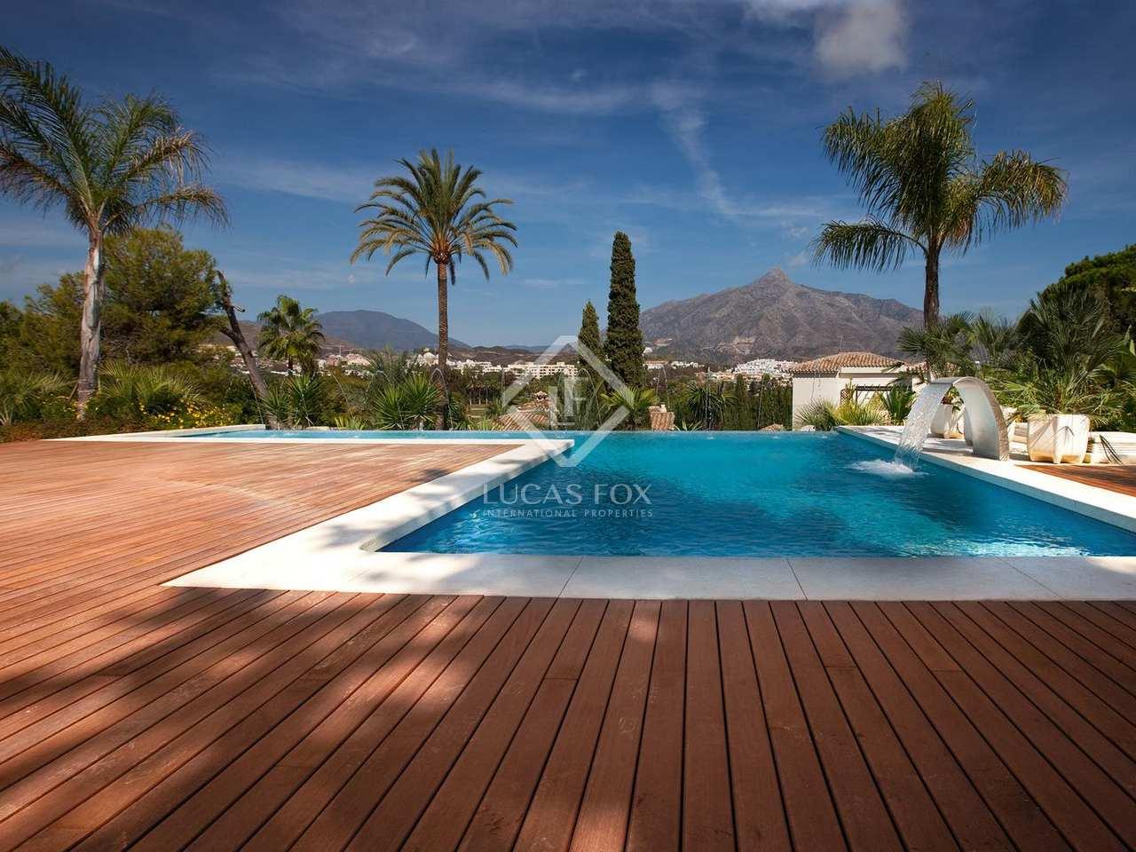 Luxury 5 bedroom villa for sale in nueva andaluc a marbella - Domotica marbella ...