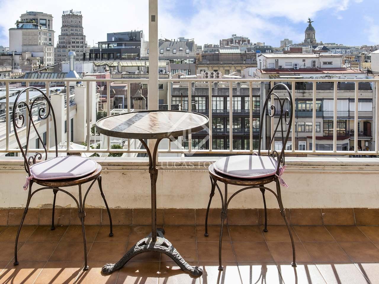 Tico de 64 m con terraza en venta en eixample derecho - Atico eixample barcelona ...