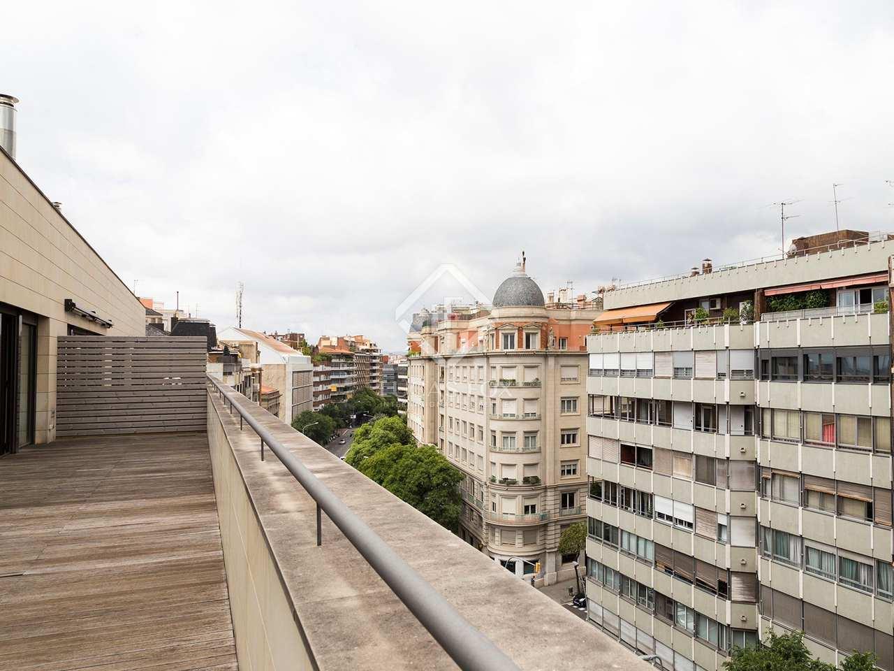 Fabulous penthouse for sale in galvany barcelona - Zona alta barcelona ...