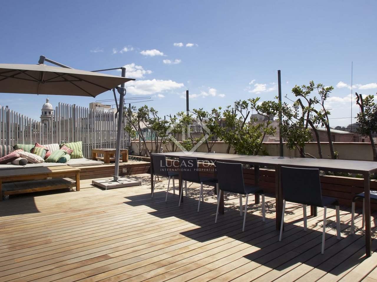 Tico en venta en el eixample de barcelona - Atico terraza barcelona ...