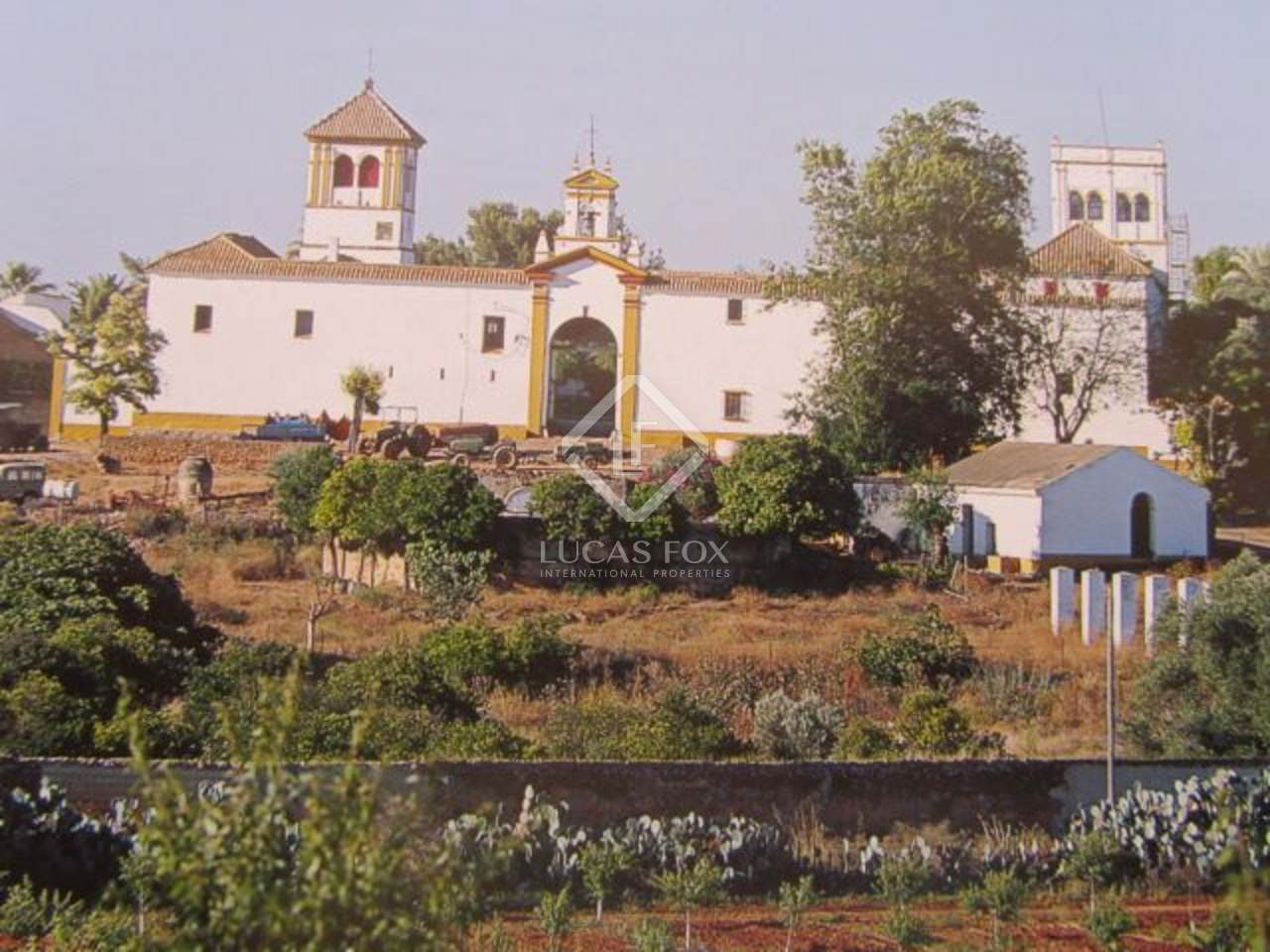 Beautiful Country Estate For Sale In Seville Andalucia