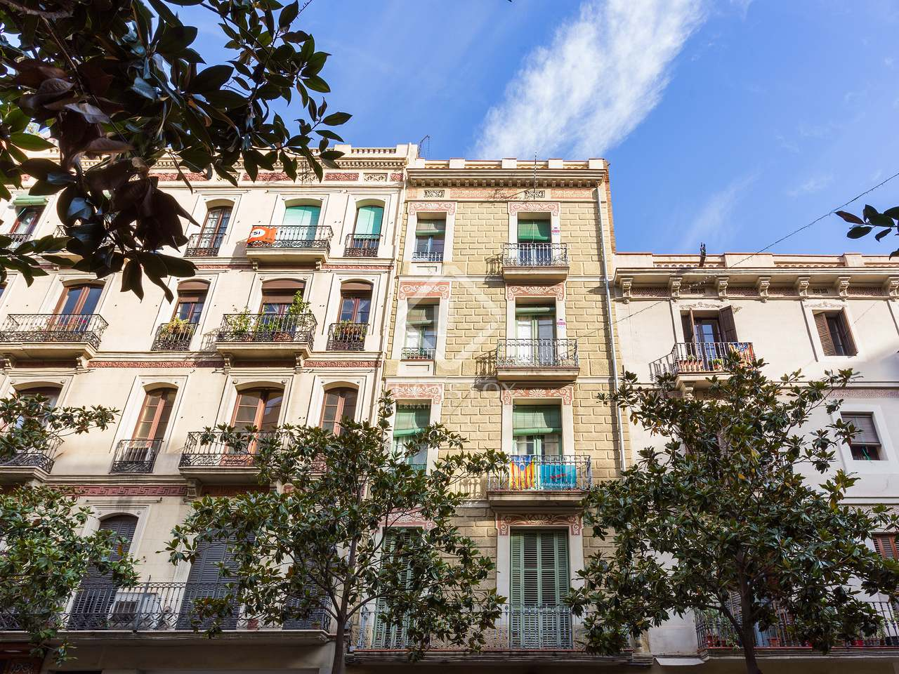 251 m apartment with 69 m terrace for sale in gracia for Terrace in apartment