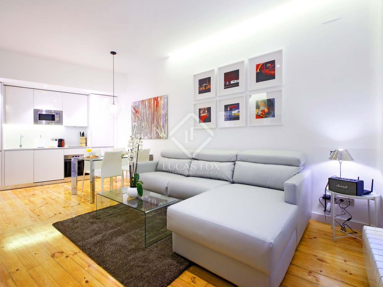 Piso De 1 Dormitorio En Alquiler En El Centro De Madrid
