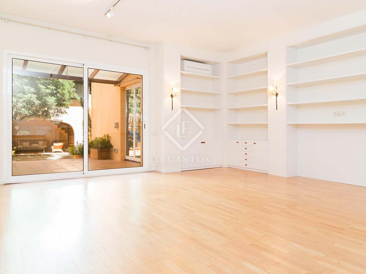 House with a garden for rent in sarri zona alta barcelona - Zona alta barcelona ...
