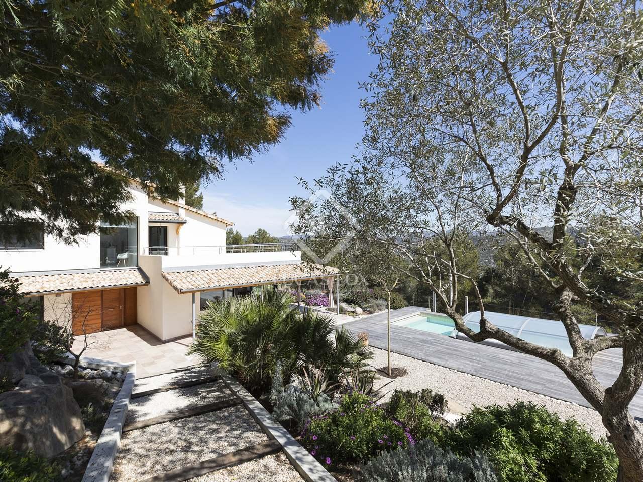 maison villa de 393m a vendre olivella barcelone. Black Bedroom Furniture Sets. Home Design Ideas