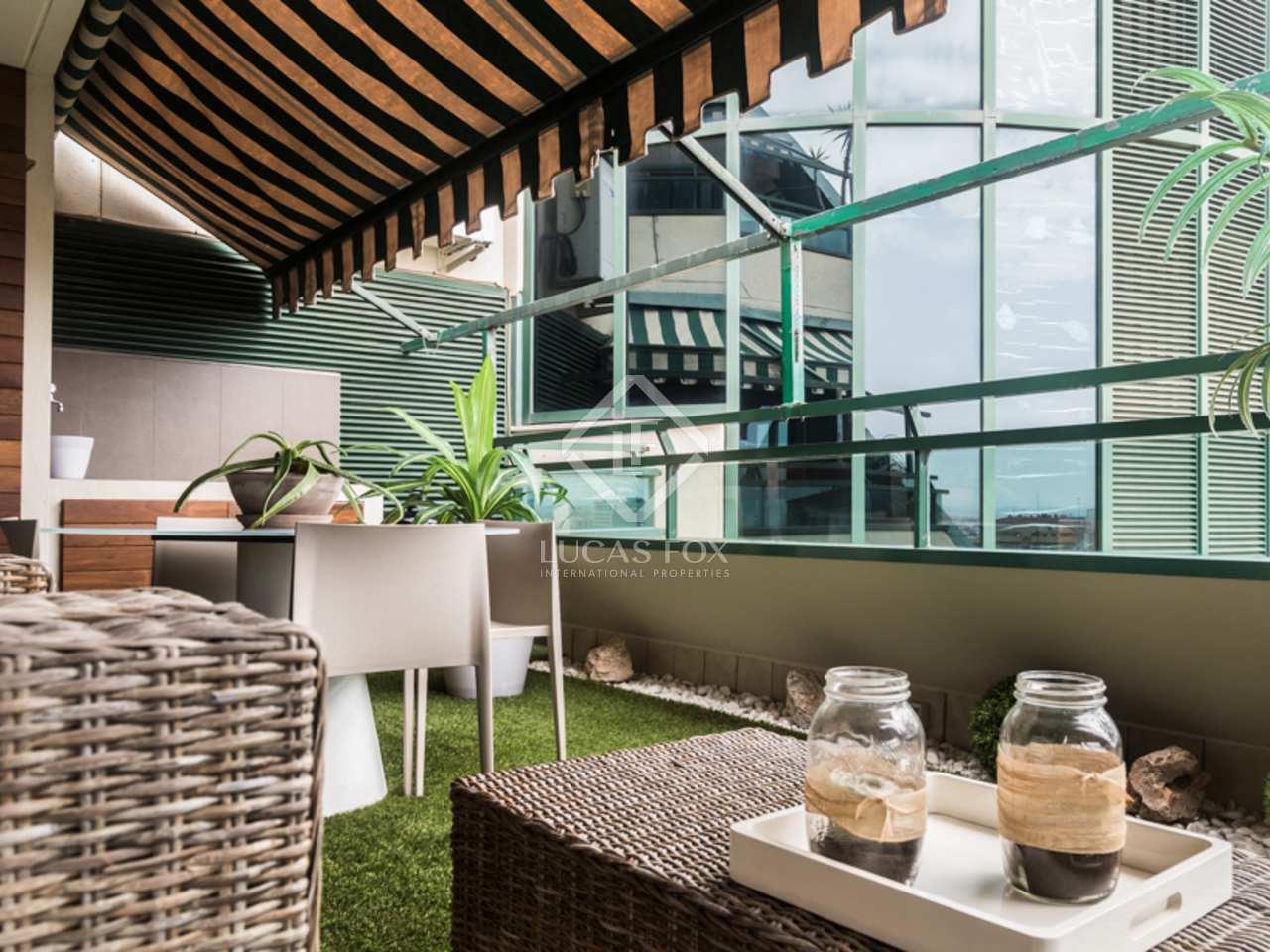 Penthouse de design en vente valence for Piscine jardin valence