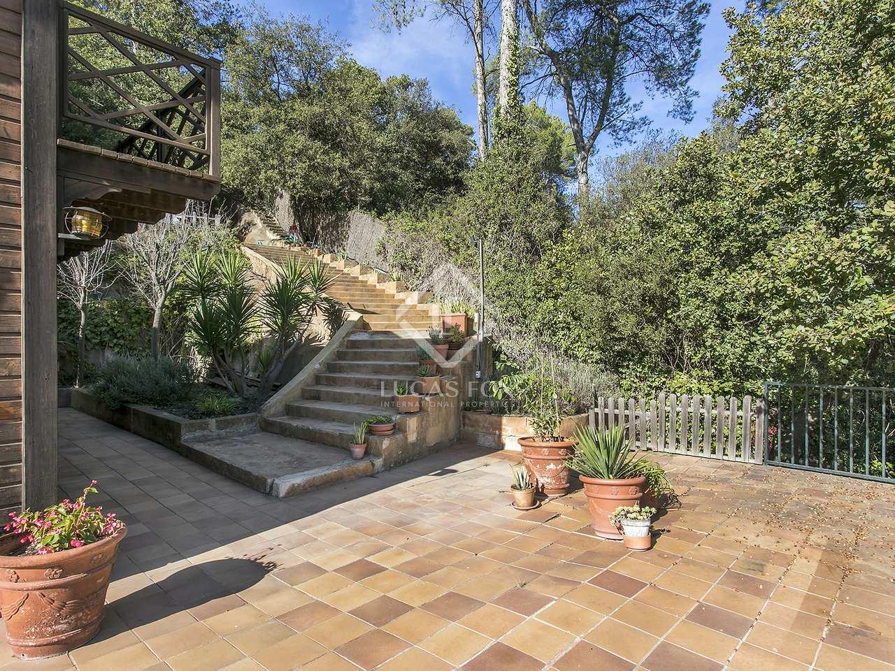 Casa en alquiler en sant cugat cerca de barcelona for Casas con piscina barcelona alquiler