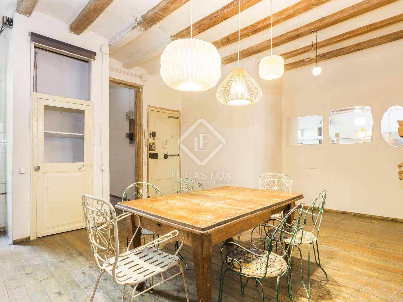 Appartement de 110m a vendre g tico barcelone for Appartement avec piscine barcelone