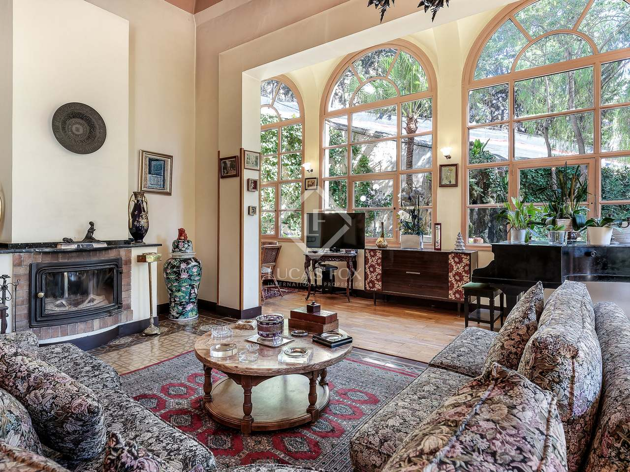 maison villa de 718m a vendre el putxet barcelone. Black Bedroom Furniture Sets. Home Design Ideas