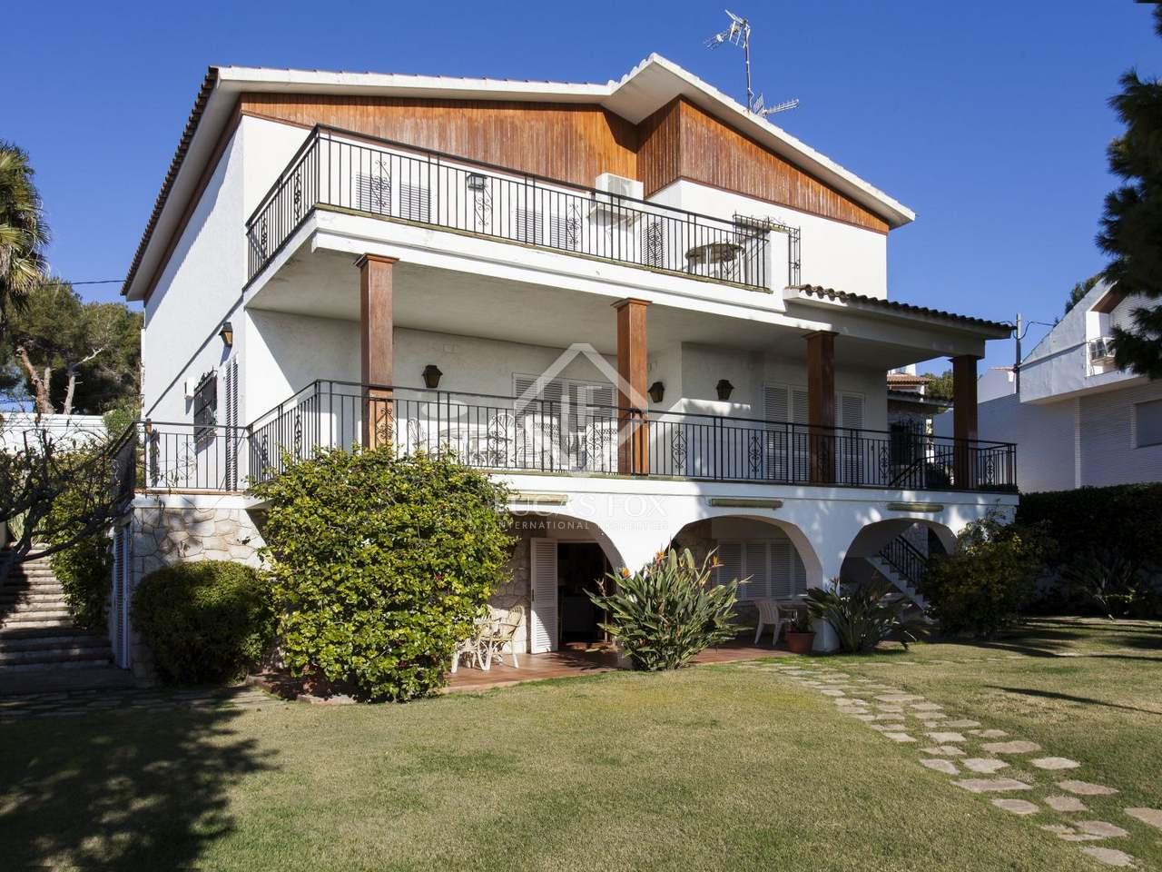 227m haus villa zum verkauf in vallpineda sitges for Verkauf haus