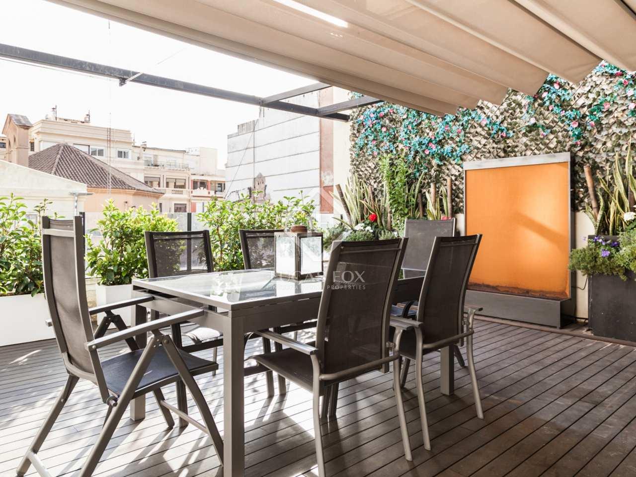 210m wohnung mit 70m terrasse zum verkauf in la xerea. Black Bedroom Furniture Sets. Home Design Ideas