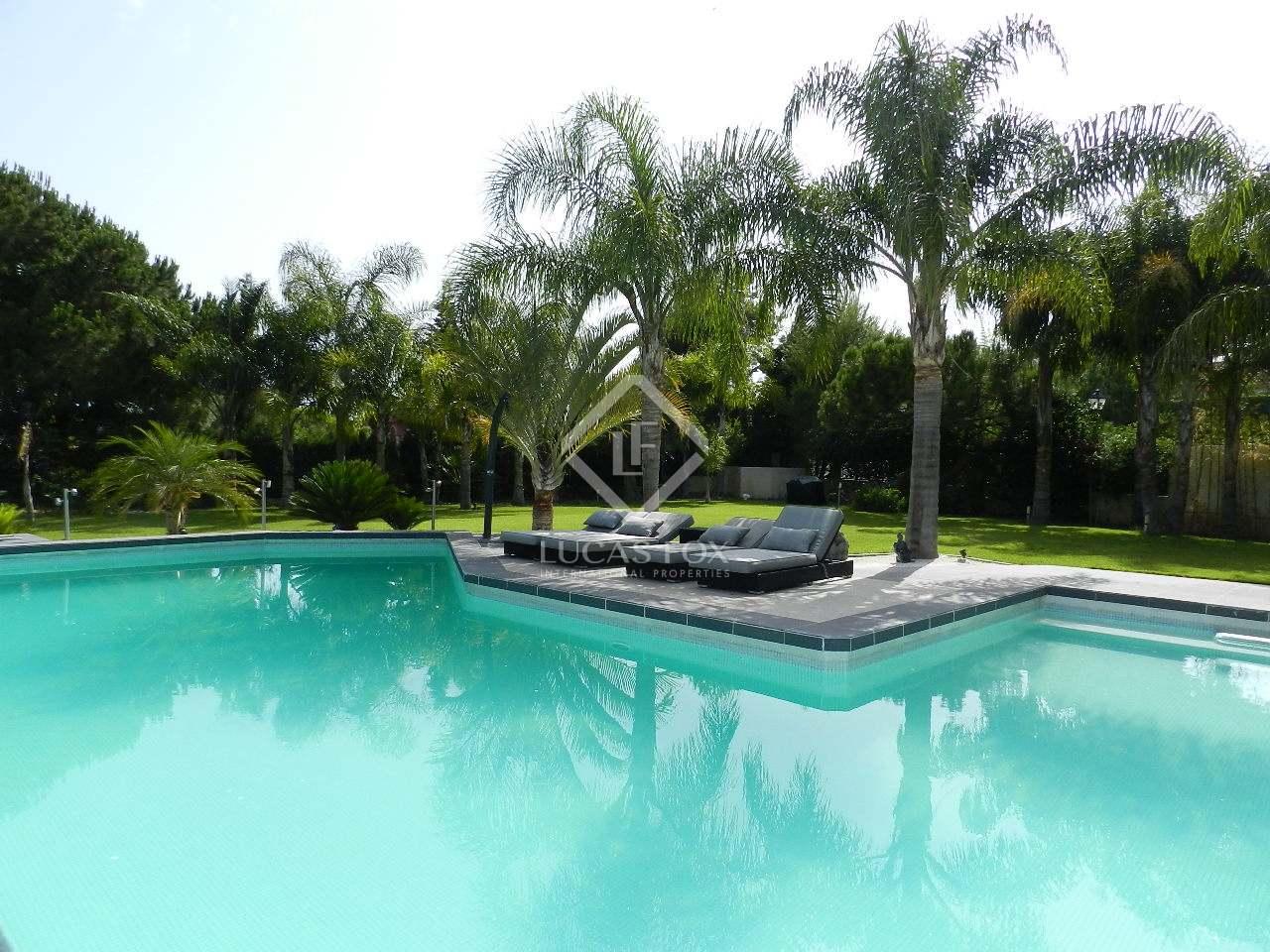Swimming Pool - 5 bed luxury villa Hacienda las Chapas, Marbella
