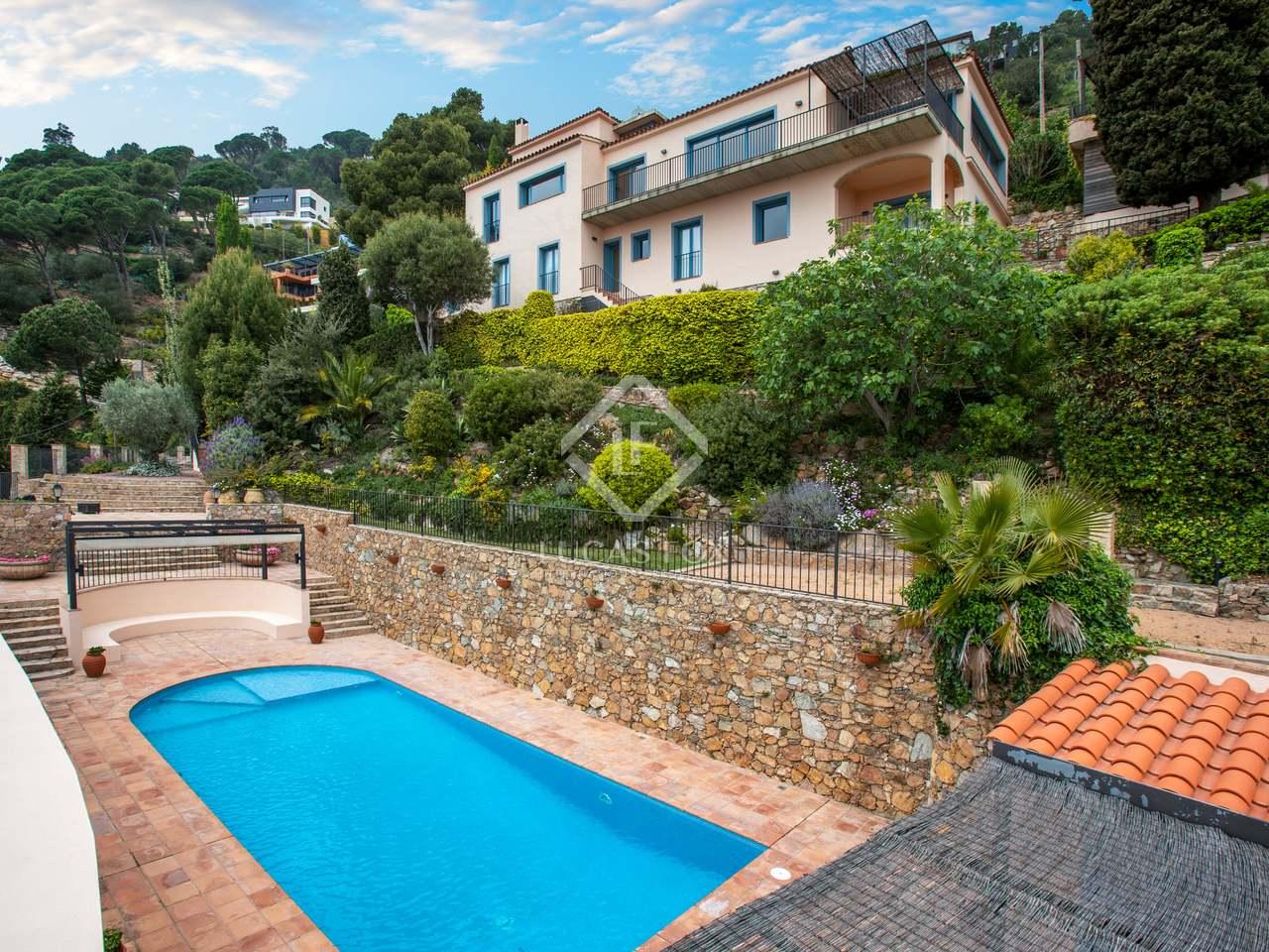 Luxurioses Costa Brava Haus Zu Kaufen Aiguablava Villa Zum Verkauf