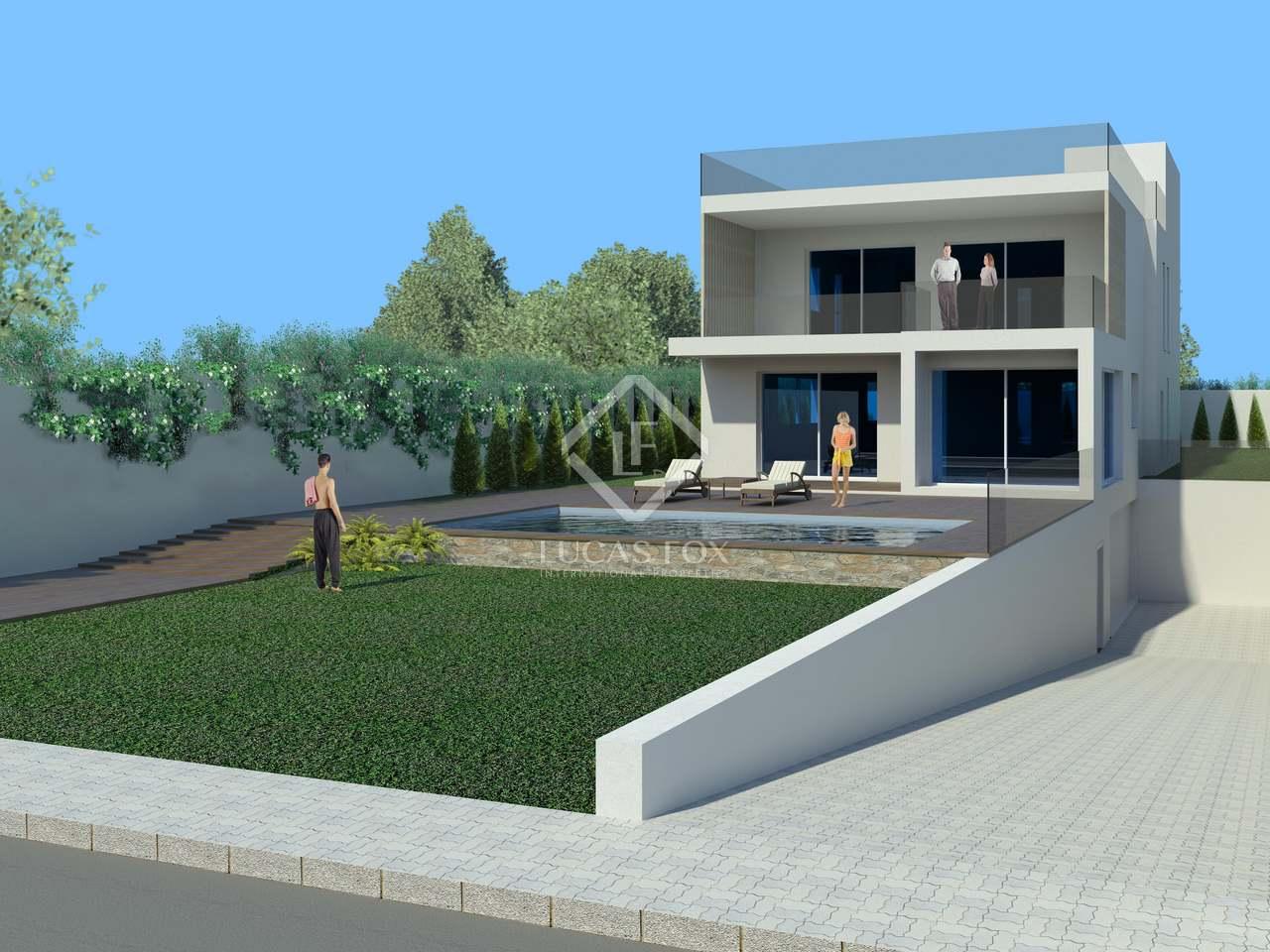 Parcela con proyecto para casa con piscina santa eulalia - Parcela con casa ...