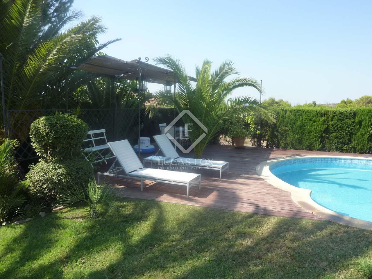 Villa de 345m con 500m de jard n en alquiler en puzol for Alquiler bajo con jardin madrid