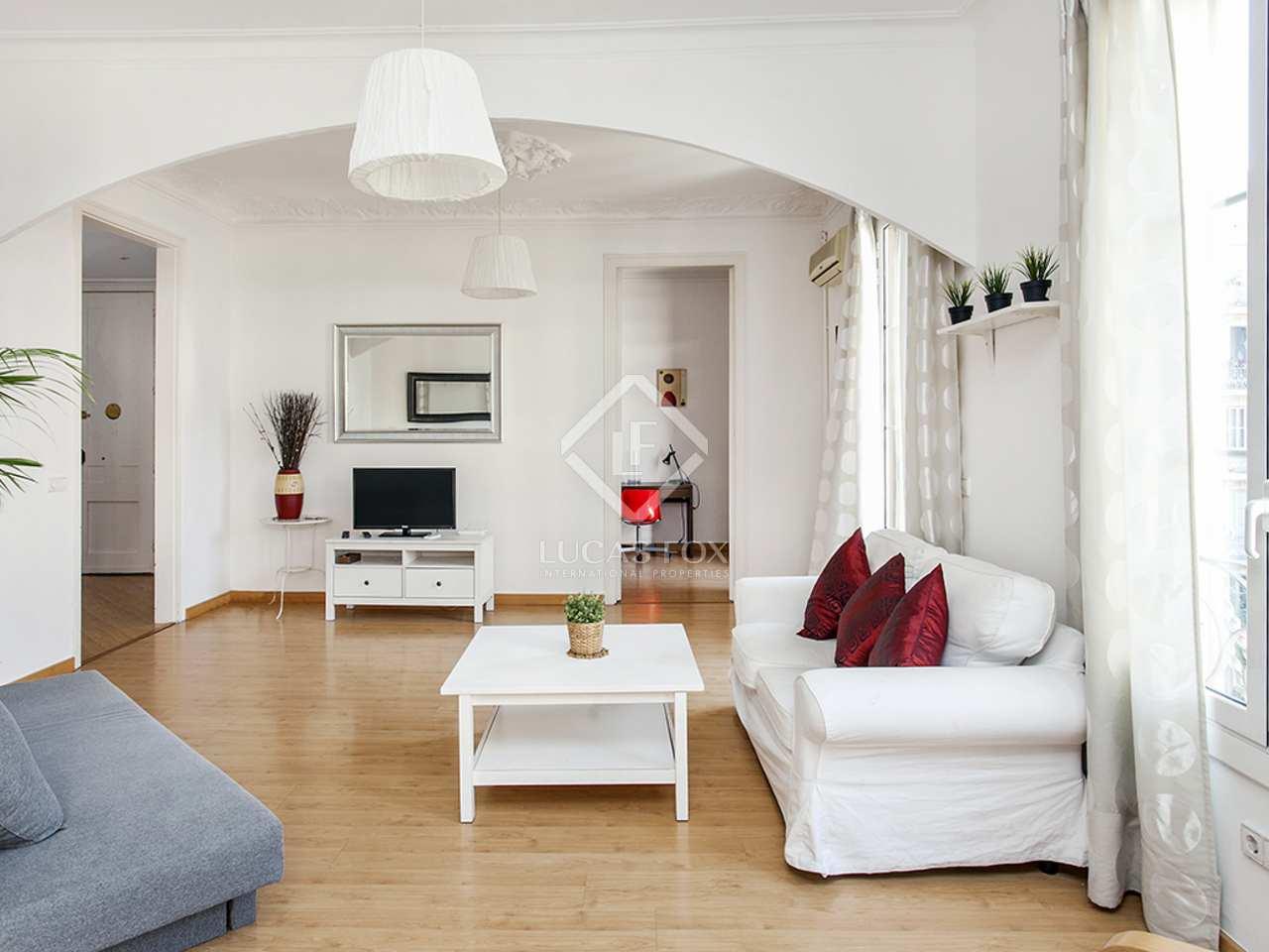 Apartamento amueblado en alquiler en el eixample barcelona for Alquiler de dormitorios