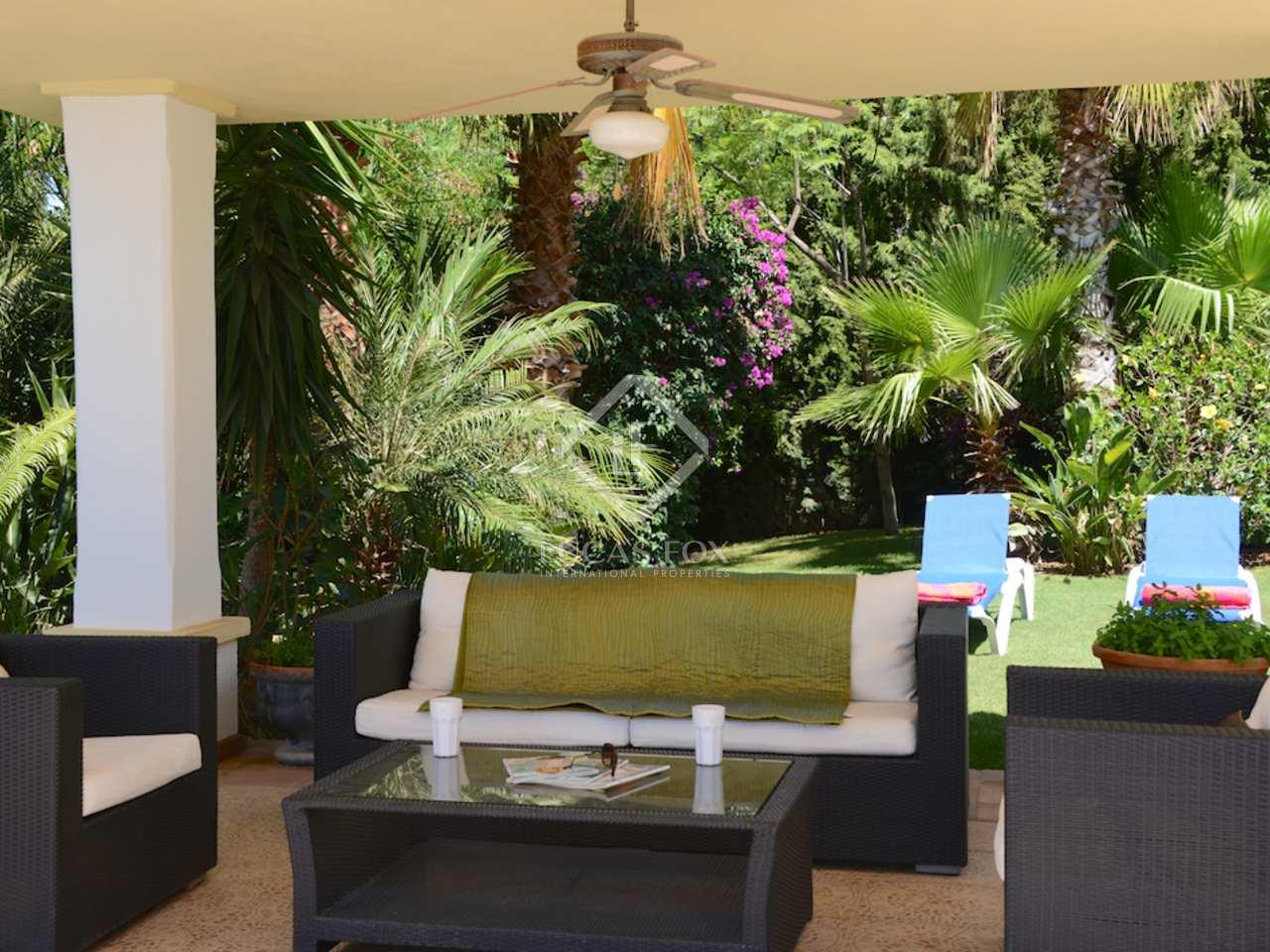 Maison villa de 367m a vendre mijas avec 2 030m de for Jardin anglais caracteristiques