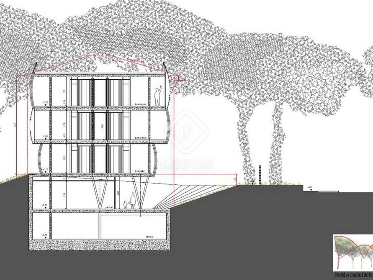 Terreno di 2 388m in vendita a castelldefels barcellona for Affittare casa a barcellona