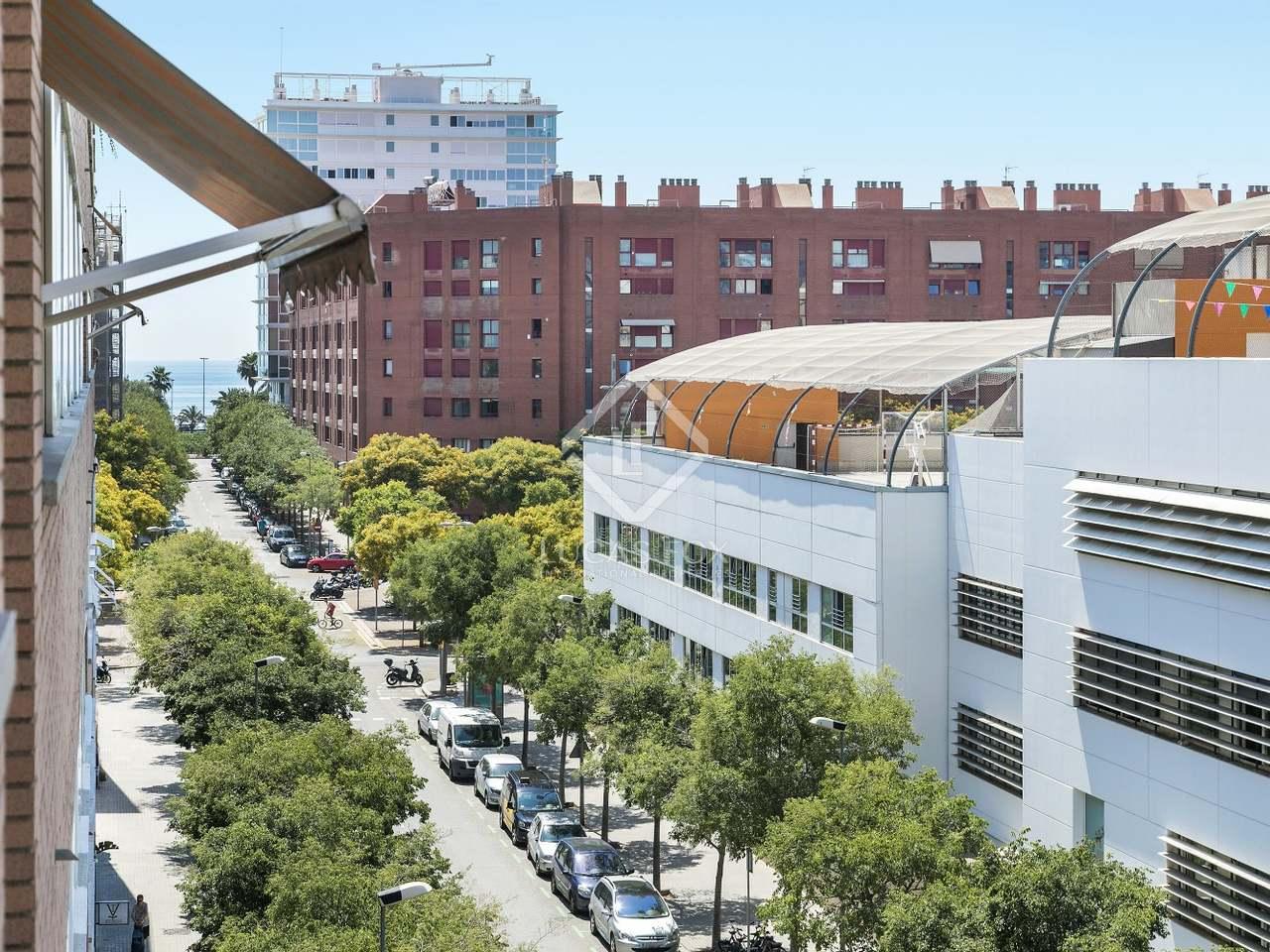 Appartement de 78m a louer diagonal mar barcelone for Appartement avec piscine barcelone