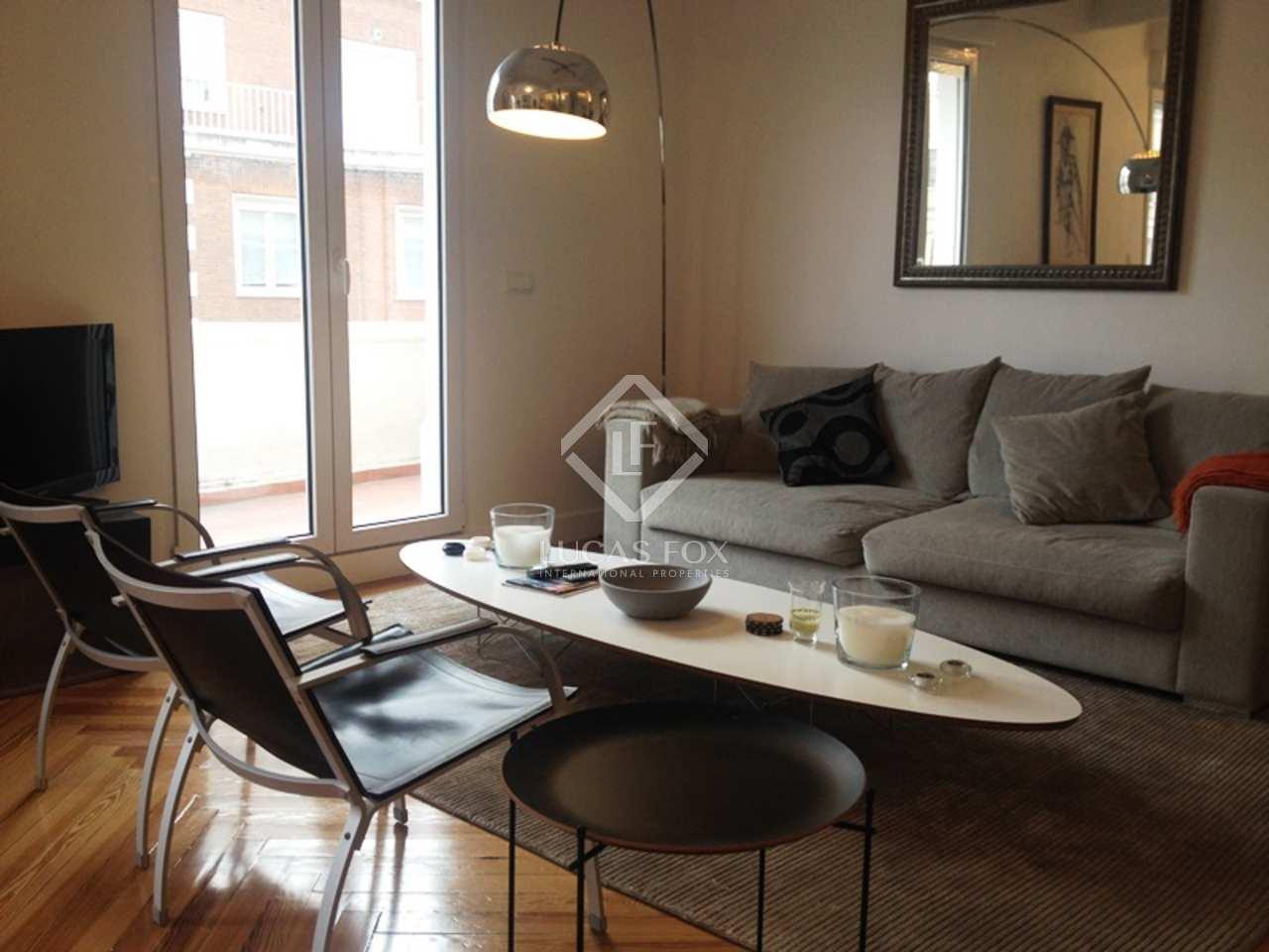 Apartamento en alquiler ne la zona de almagro de chamber - Zona chamberi madrid ...