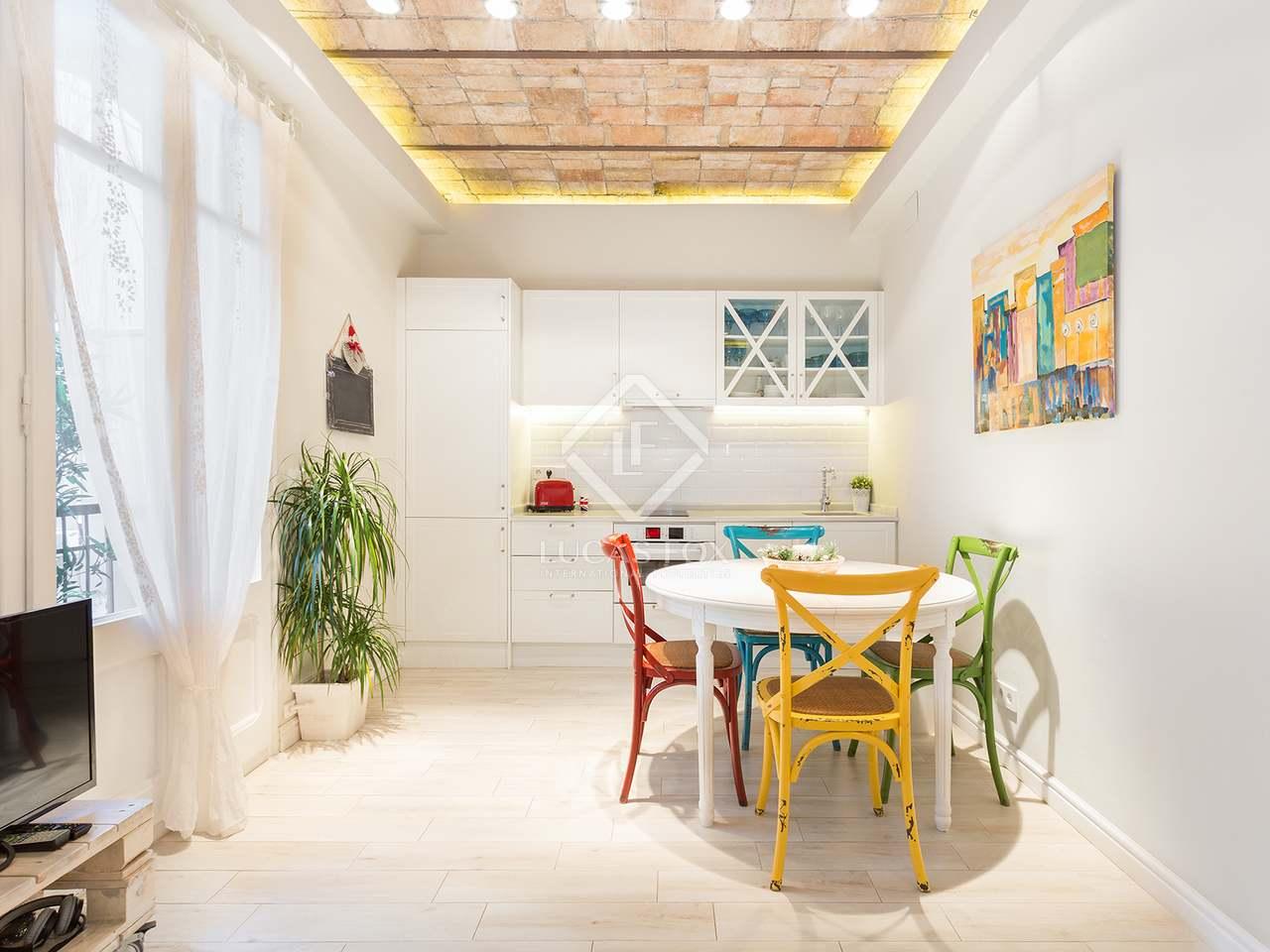 Piso de 56 m en venta en sant gervasi galvany - Piso con licencia turistica barcelona ...