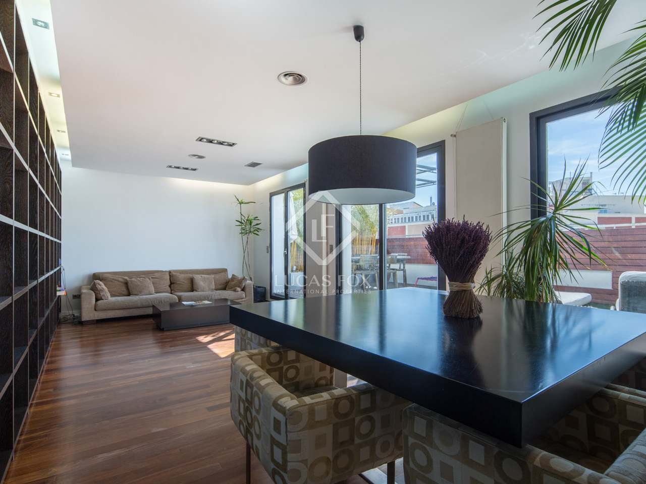 A unique penthouse for sale at the heart of salamanca madrid