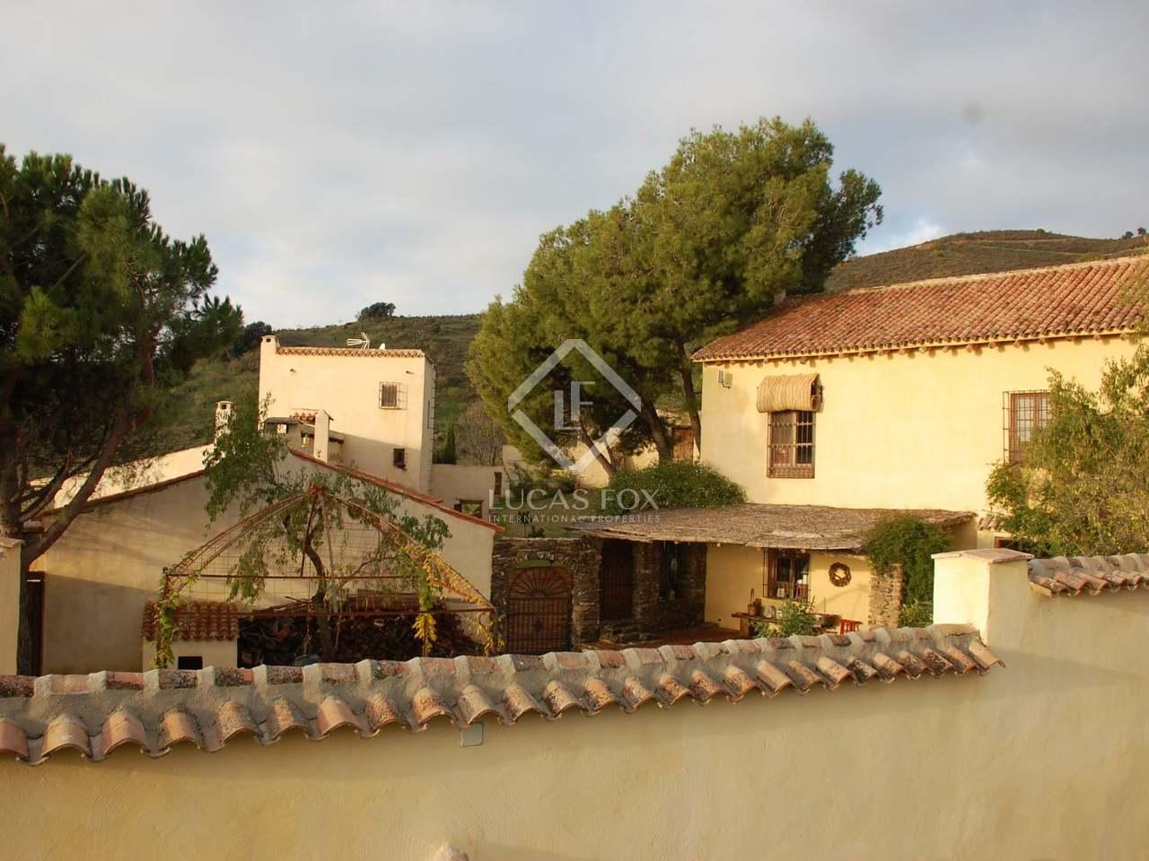 Cortijo renovado situado en la sierra de la contraviesa - Casa diez dormitorios ...