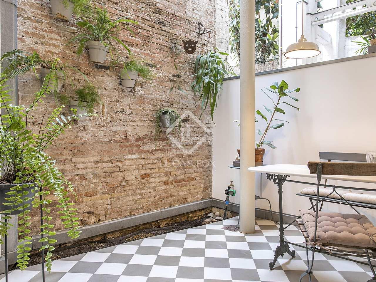 Appartement de 80m a louer gr cia barcelone for Location appartement design barcelone