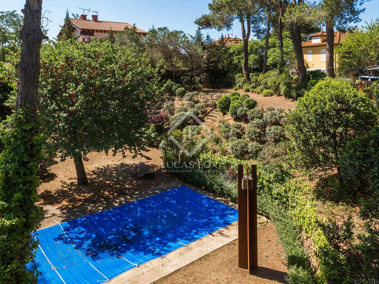 Classic Villa With Pool For Rent In Collserola Barcelona