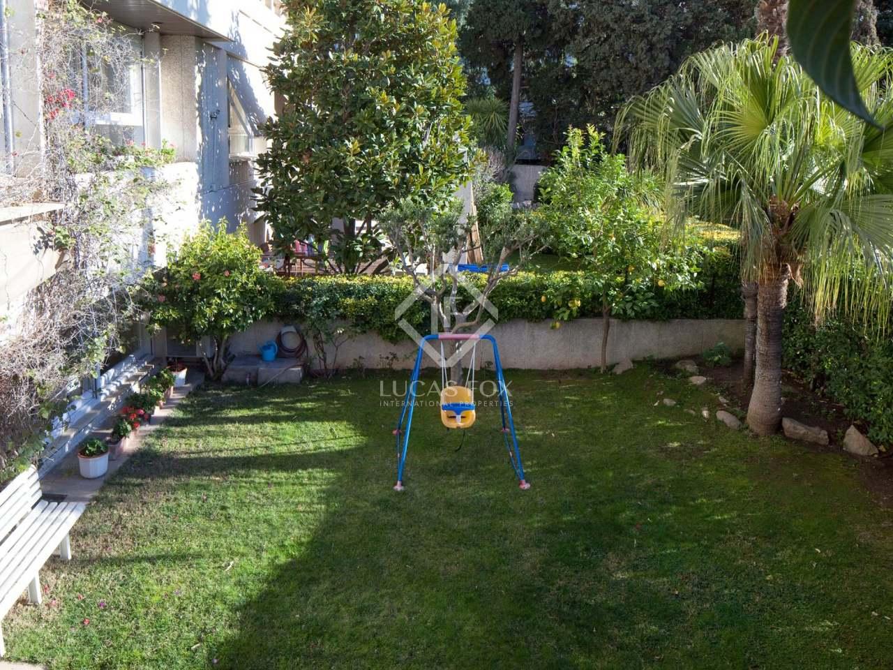 Appartement de 280m a vendre pedralbes avec 80m de jardin for Piscine w barcelone