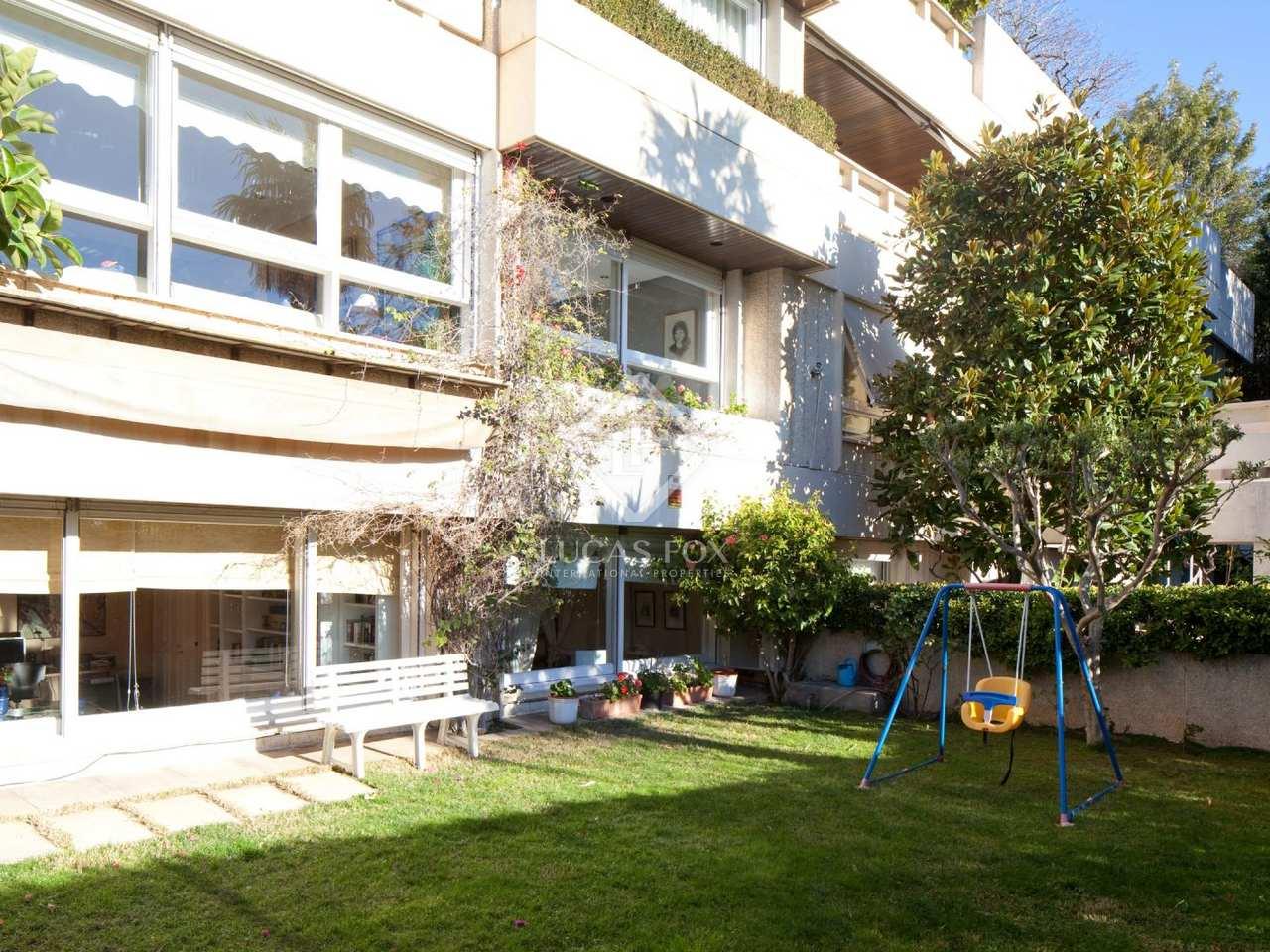 Appartement de 280m a vendre pedralbes avec 80m de jardin - Appartement de ville hotelier vervoordt ...