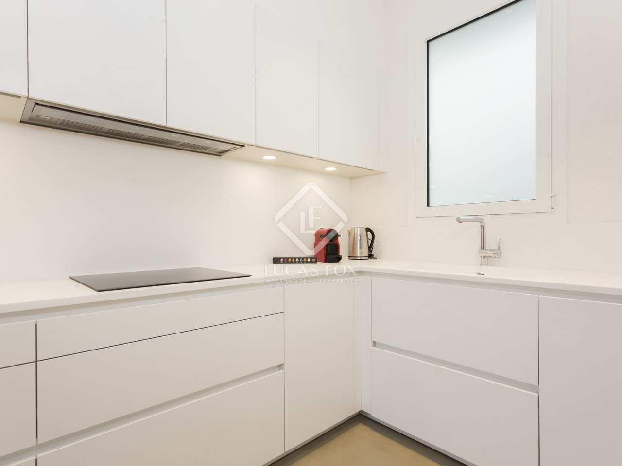 Renovated 2 bedroom apartment to rent in eixample barcelona - Calle casp barcelona ...