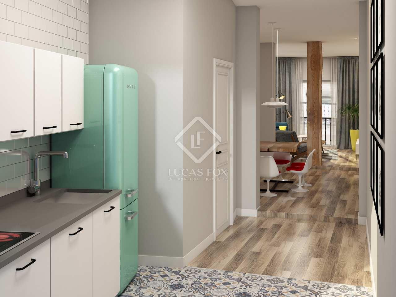 86m wohnung zum verkauf in malasa a madrid. Black Bedroom Furniture Sets. Home Design Ideas