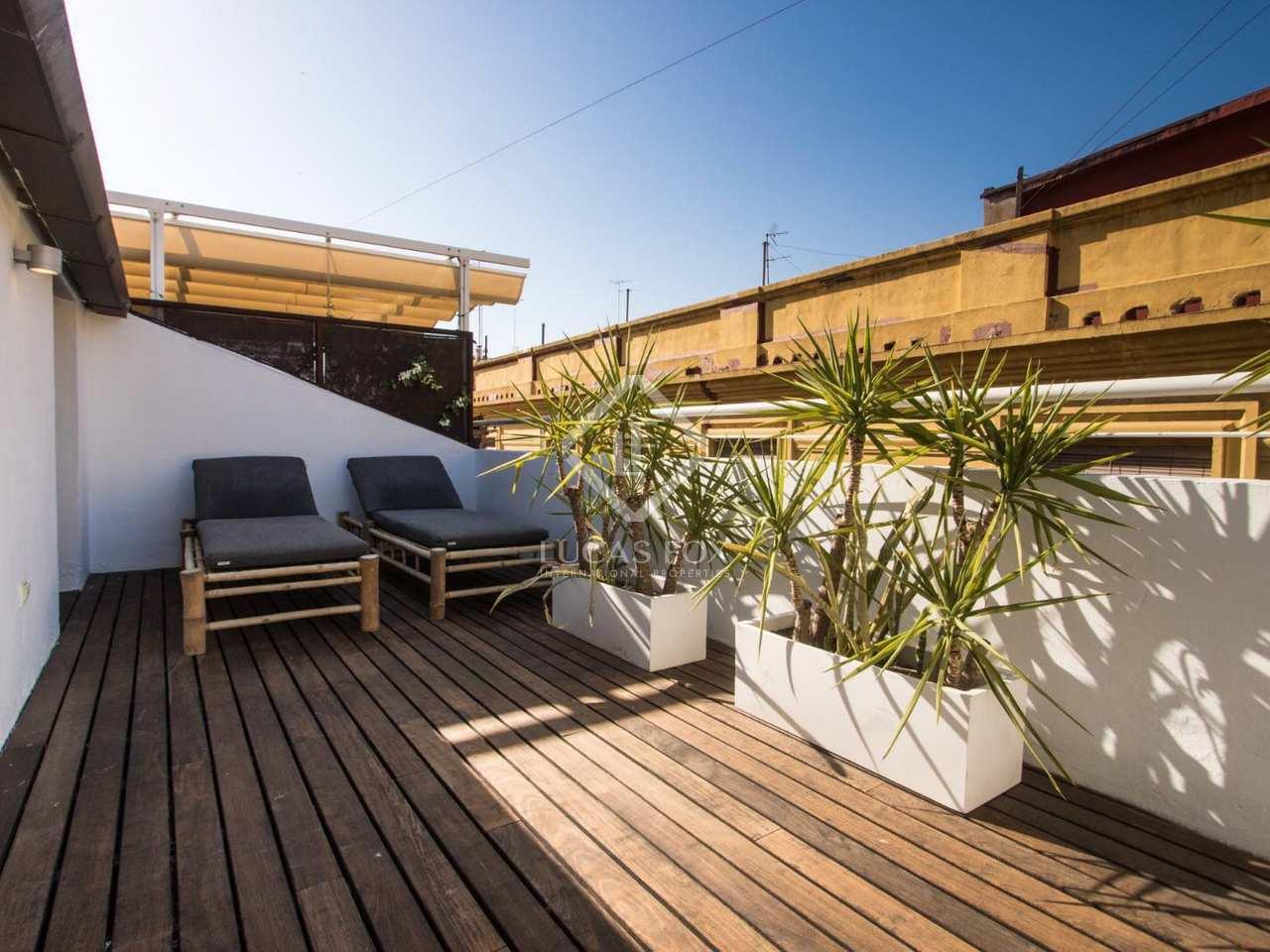 196m dachwohnung mit 40m terrasse zum verkauf in la xerea. Black Bedroom Furniture Sets. Home Design Ideas