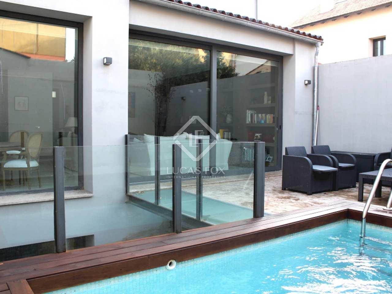 Villa en venta en madrid chamart n ciudad jard n for Piscina ciudad jardin sevilla