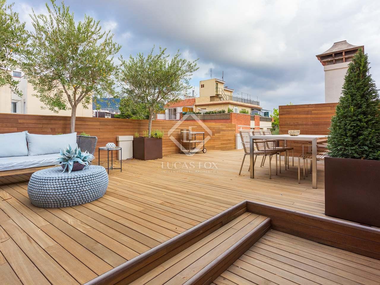 Tico de 85m con una gran terraza en venta en sarri - Atico terraza barcelona ...