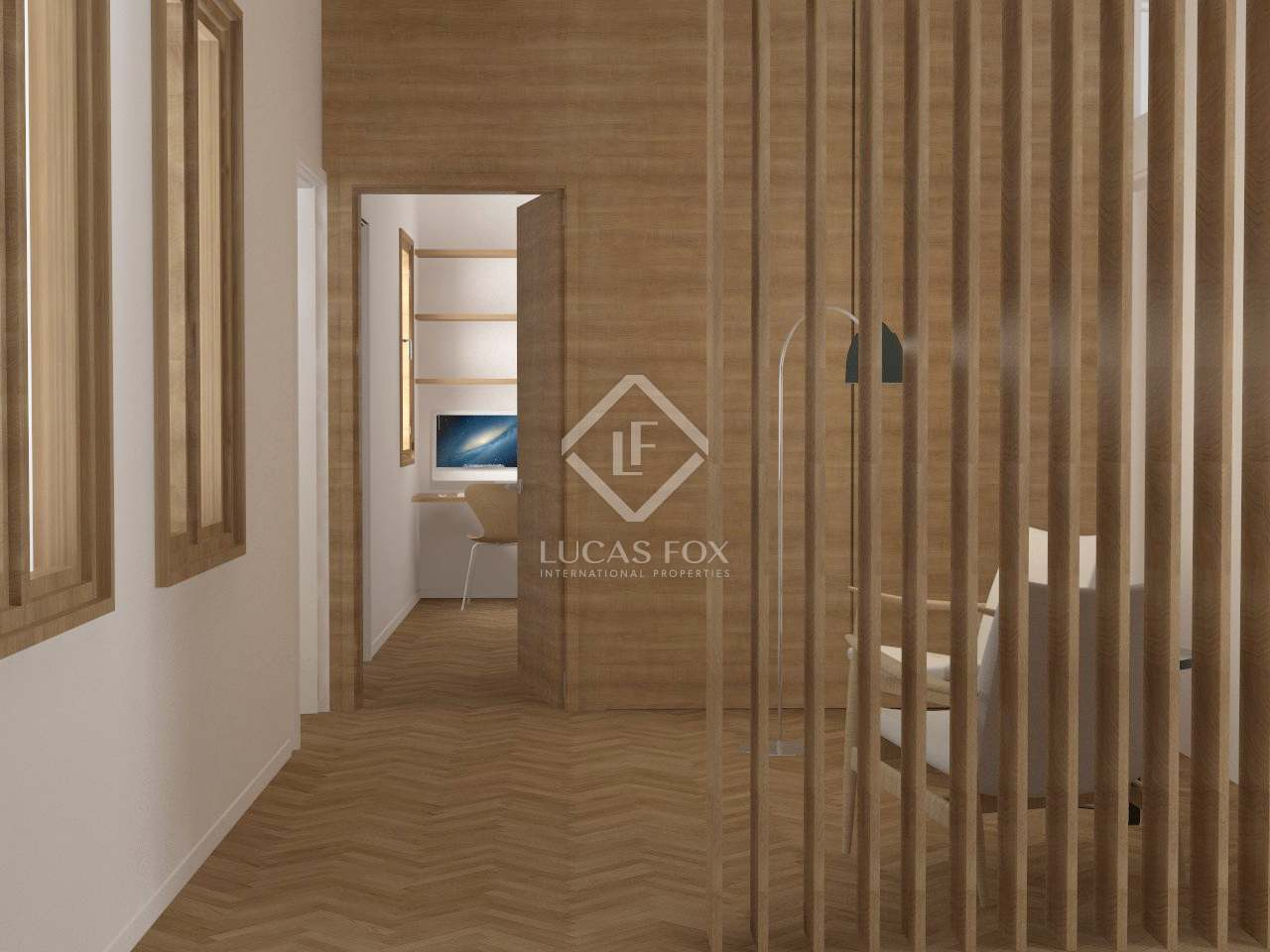 234m wohnung mit 157m terrasse zum verkauf in eixample rechts. Black Bedroom Furniture Sets. Home Design Ideas