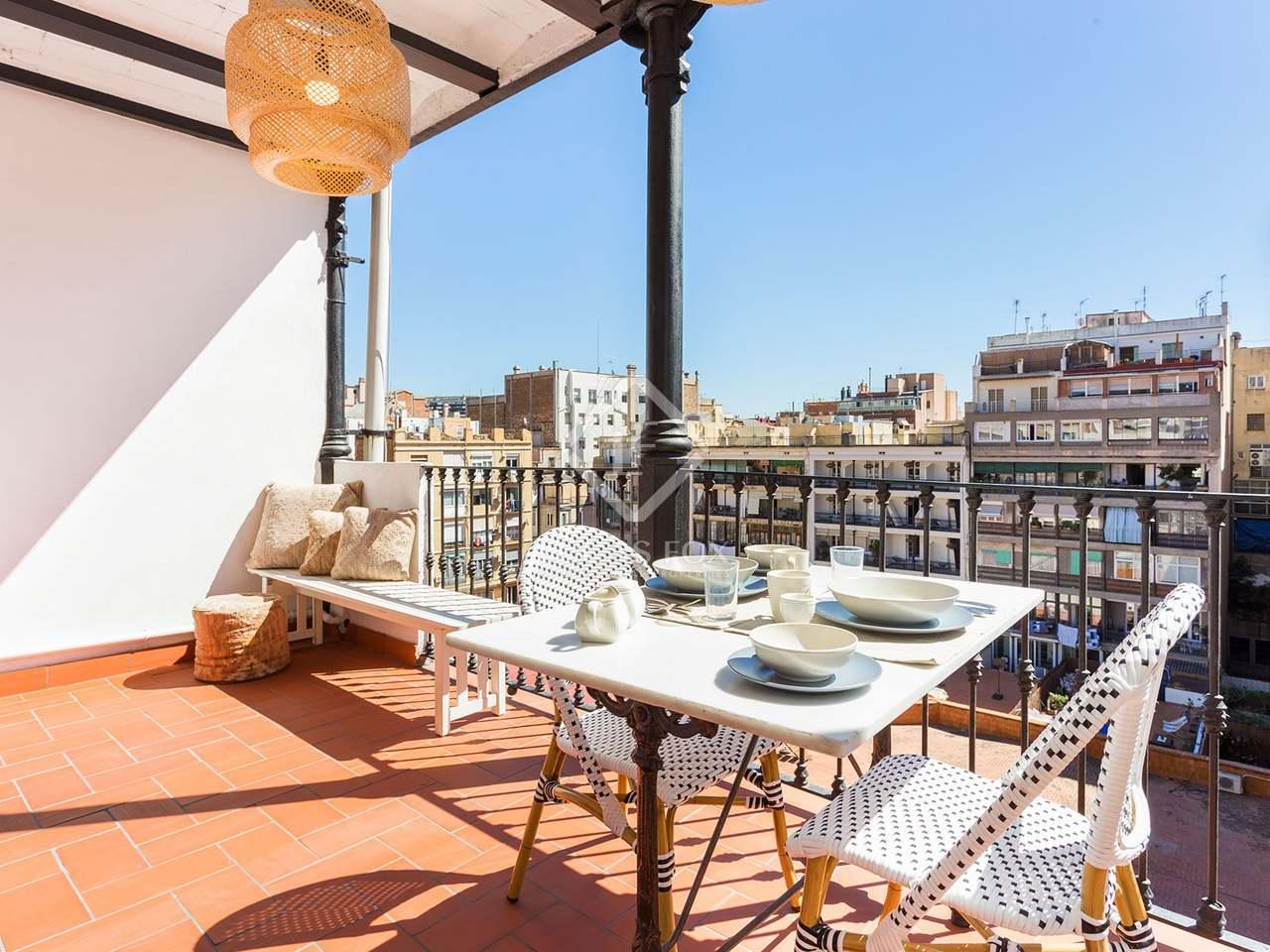 Appartement de 82m a vendre eixample droite avec 10m terrasse - Acheter appartement a barcelone ...