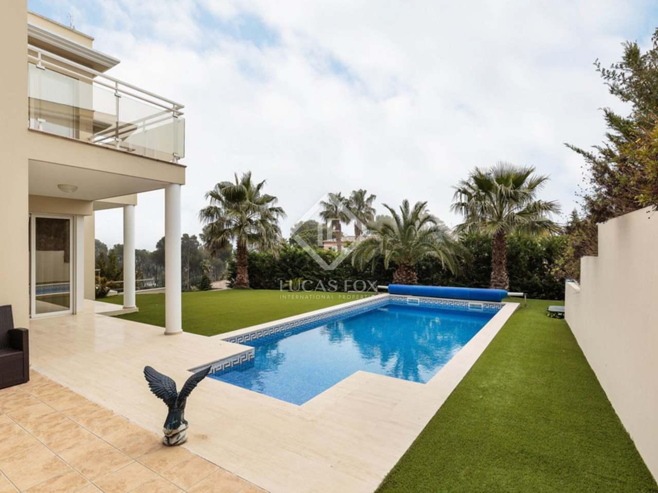 Casa moderna de 370m en venta en playa de aro costa brava - Casa playa costa brava ...