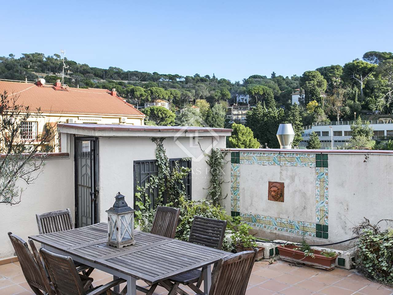Unfurnished duplex with terrace to rent in gr cia vallcarca for 50 park terrace west