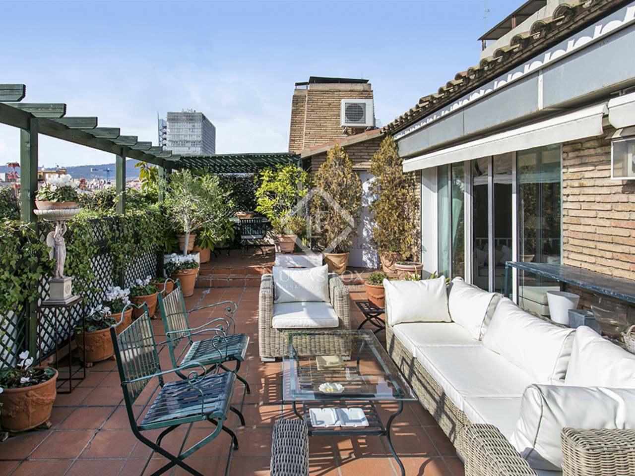 Appartement de 311m a vendre gr cia avec 87m terrasse - Acheter appartement a barcelone ...