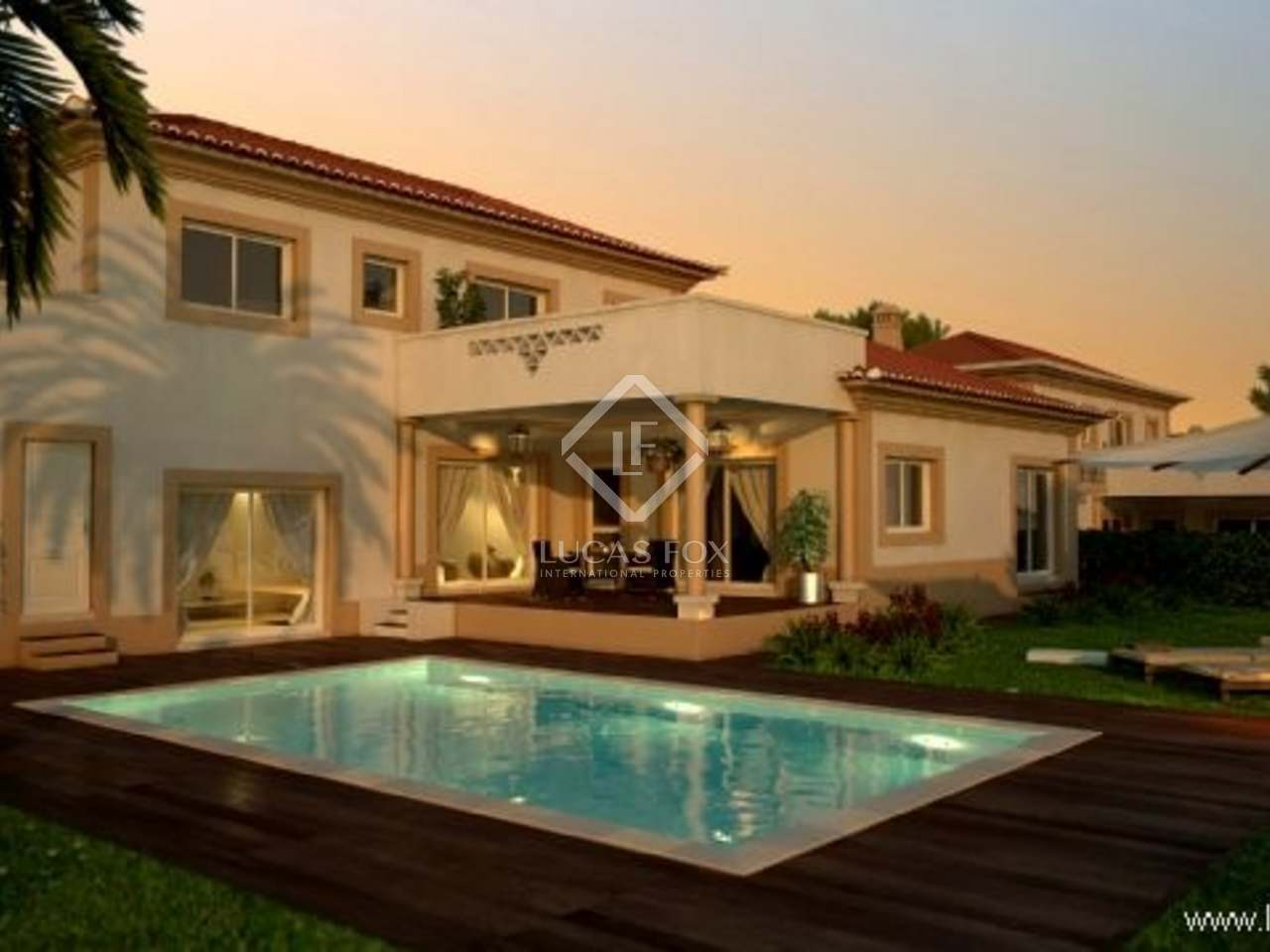 A three bedroom golf villa for sale on the Silver Coast : 1