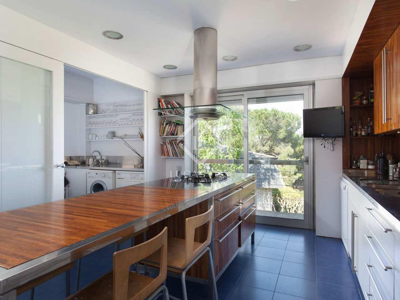Casa en alquiler en sant cugat golf cerca de la ciudad de for Alquiler casa jardin barcelona
