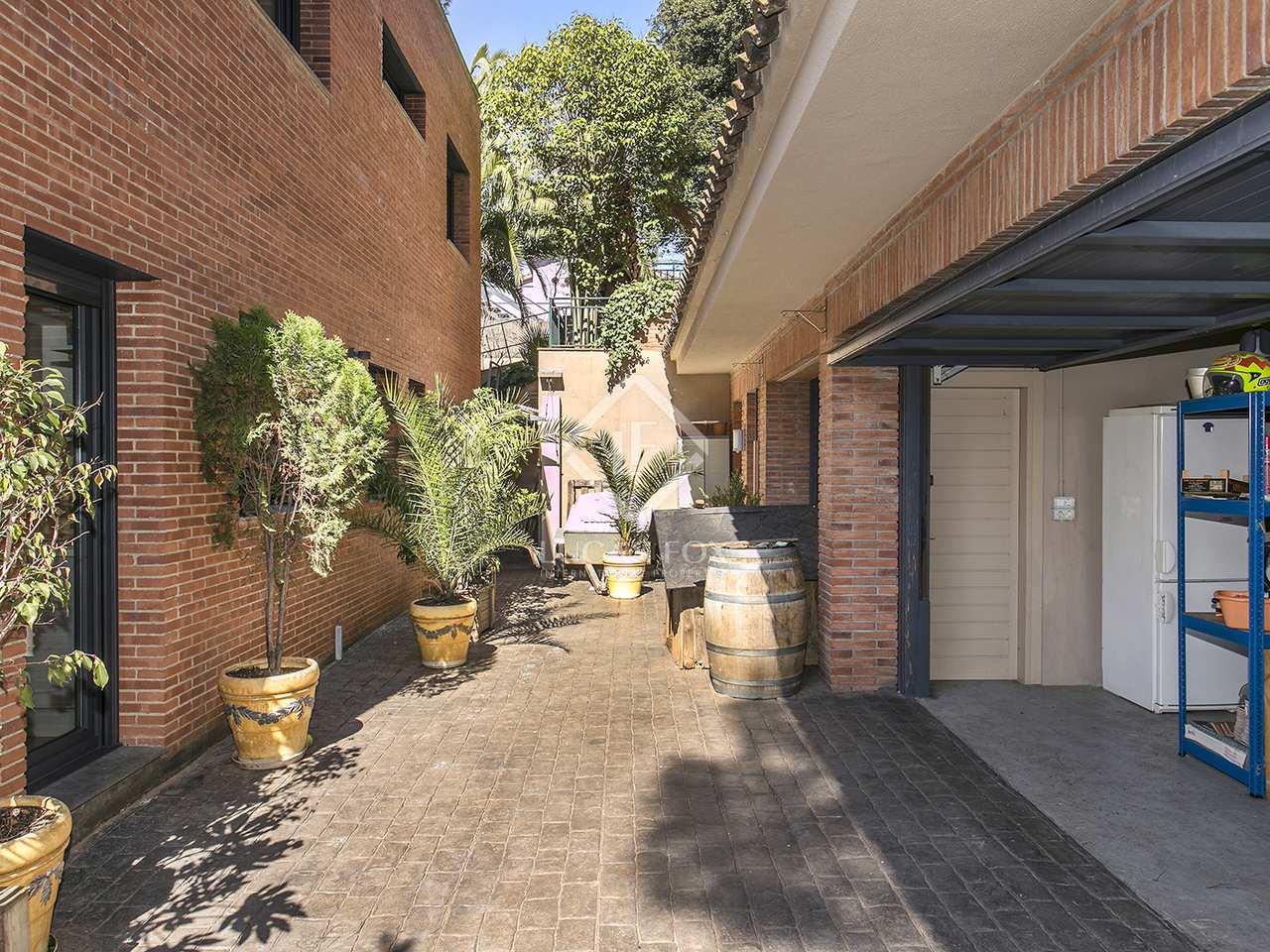 Maison villa de 265m a louer sant cugat avec 700m de jardin - Spa sant cugat ...