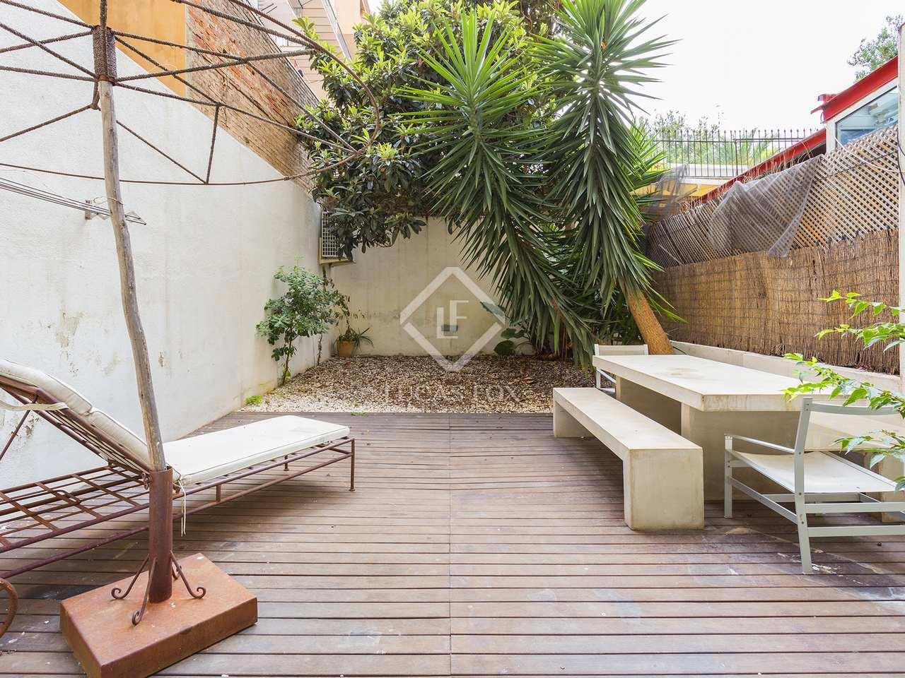 Appartement de 84m a vendre eixample gauche avec 54m for Appartement avec piscine barcelone